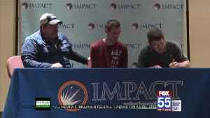 Impact Institute holds signing day for students [Video]