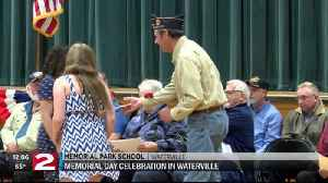 Elementary students thank veterans for their service in Waterville [Video]