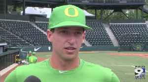 Web Extra: Spencer Steer on final series against UCLA (5/22/19) [Video]