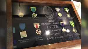West Terre Haute man creates shadow box to hold fallen THPD officer's awards [Video]