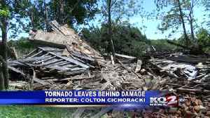 Effingham tornado damage [Video]