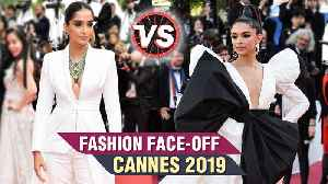 Cannes 2019 | Sonam Kapoor VS Deepika Padukone | Who Looked BEST? | Fashion Faceoff [Video]