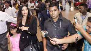 Cannes 2019 | Aishwarya Rai AVOIDS Media At Mumbai Airport, Returns To Mumbai [Video]