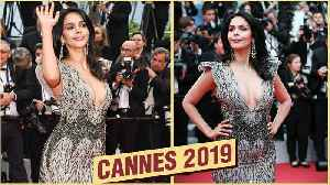 Cannes 2019 | Mallika Sherawat STUNNING Look At 72nd Cannes Film Festival Red Carpet [Video]