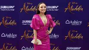 Larissa Manoela 'Aladdin' World Premiere Purple Carpet [Video]