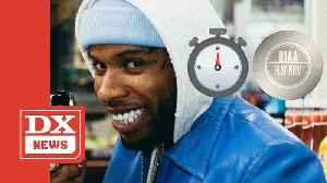Tory Lanez Says His Broke Leg Single Will Go Platinum In 10 Seconds [Video]