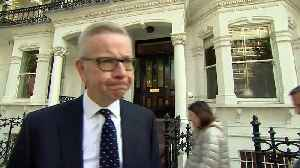 News video: Michael Gove says he will not resign from Cabinet