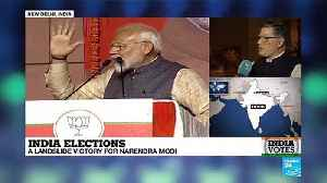 India Elections: Modi vows to unite the country after stunning win [Video]