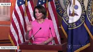 Pelosi To Reporter On Kellyanne Conway: 'I'm Not Going To Talk About Her' [Video]