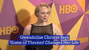 Gwendoline Christie Reflects On Exiting 'Game of Thrones' [Video]