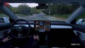 Tesla's New Autopilot Update Drives Like a 'Kid Behind the Wheel for the Very First Time' [Video]