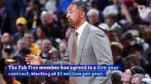 Michigan Hires Former Star Juwan Howard as New Head Coach [Video]