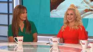 The Talk - Why Kellie Pickler Says Husband 'saved me'; Sara Gilbert Praises Sharon Osbourne for Discussing Suicide Attempt [Video]