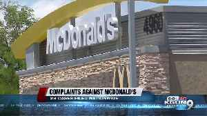 Tucson teen takes on McDonald's; sexual harassment claims [Video]