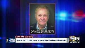 San Tan Valley man arrested for concealing mother's death to collect government checks [Video]