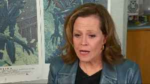 Sigourney Weaver reflects on 'Alien' ahead of the film's 40th anniversary [Video]