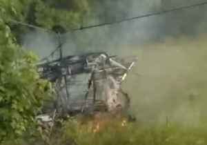 Pilot Survives After Plane Crashes and Burns in Terry, Mississippi [Video]
