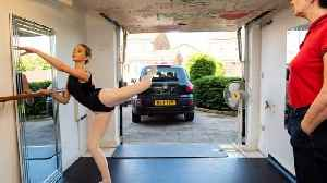 Diy Skills En Pointe! Savvy Single Mum Converts Garage Into Incredible Ballet Studio For Cancer-surviving Daughter With Dream To [Video]