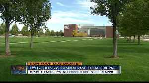 CWI trustees give president raise despite no confidence vote [Video]