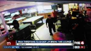 Man threatens to shoot up Break Time Lounge in Naples [Video]