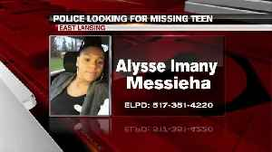 East Lansing police searching for a missing teen [Video]