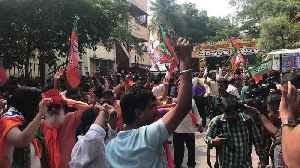 BJP Supporters Celebrate Projected Modi Victory in Bengaluru [Video]
