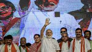 India's Ruling Party Wins In An Unexpected Landslide Victory [Video]