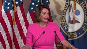 Pelosi wishes for Trump family, staff 'intervention' [Video]