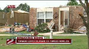 Tornado leaves Jay families homeless [Video]