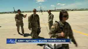 Families and friends welcome home Wisconsin Army National Guard soldiers [Video]