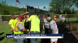 Vietnam Moving Wall on display in Greenfield [Video]