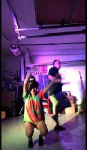 Video with over 3 million views of a girl who escapes her mother to groove-out with her dad in a Texas garage [Video]