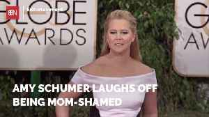 Amy Schumer Explains Mom Shaming [Video]