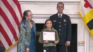 Maryland Kids Honored With EMS Award For Quick Thinking In Emergency Situations [Video]