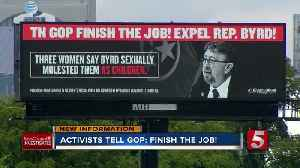 Activists want David Byrd expelled in special session [Video]
