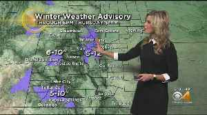 More Snow For Mountains, Rain In Denver [Video]