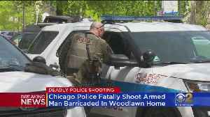 Chicago Police Fatally Shoot Armed Man Barricaded In Woodlawn Home [Video]