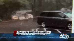 Cool weather hurting business on Mt. Lemmon [Video]