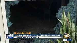 Rash of break-ins at San Diego breweries, wineries [Video]