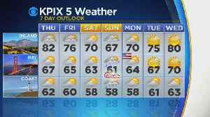 Wednesday Evening Weather Forecast With Paul Deanno [Video]