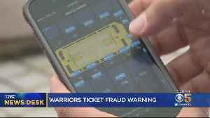 Warriors Warn Fans Against Buying NBA Championship Tickets From Third-Party Vendors [Video]