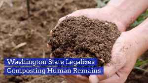 Human Remains Can Be Turned Into Soil [Video]