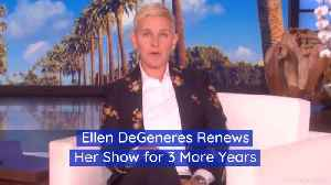 Ellen DeGeneres Decided To Stay On Her Show [Video]