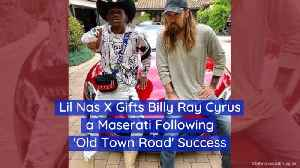 Lil Nas X Hands Billy Ray Cyrus A New Sports Car [Video]