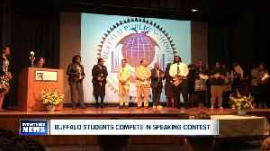 Buffalo student's presentation of funny Cuban parable wins 112th Richmond Speaking Contest [Video]