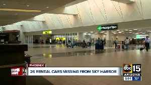 Three rental car employees arrested for stealing vehicles from Sky Harbor [Video]