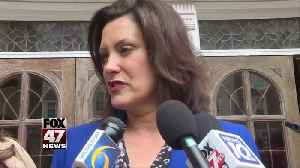 Whitmer says she 'will not be bullied' on the issue of auto insurance [Video]