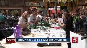 Groups rally to get Nashville immigrants to the voting booths [Video]