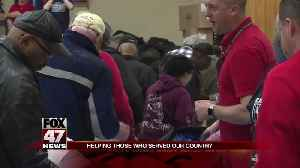 Lansing hosts the 16th Capital Area Stand Down for Homeless Veterans [Video]