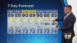 Humid But Dry For The Next Week Or So [Video]